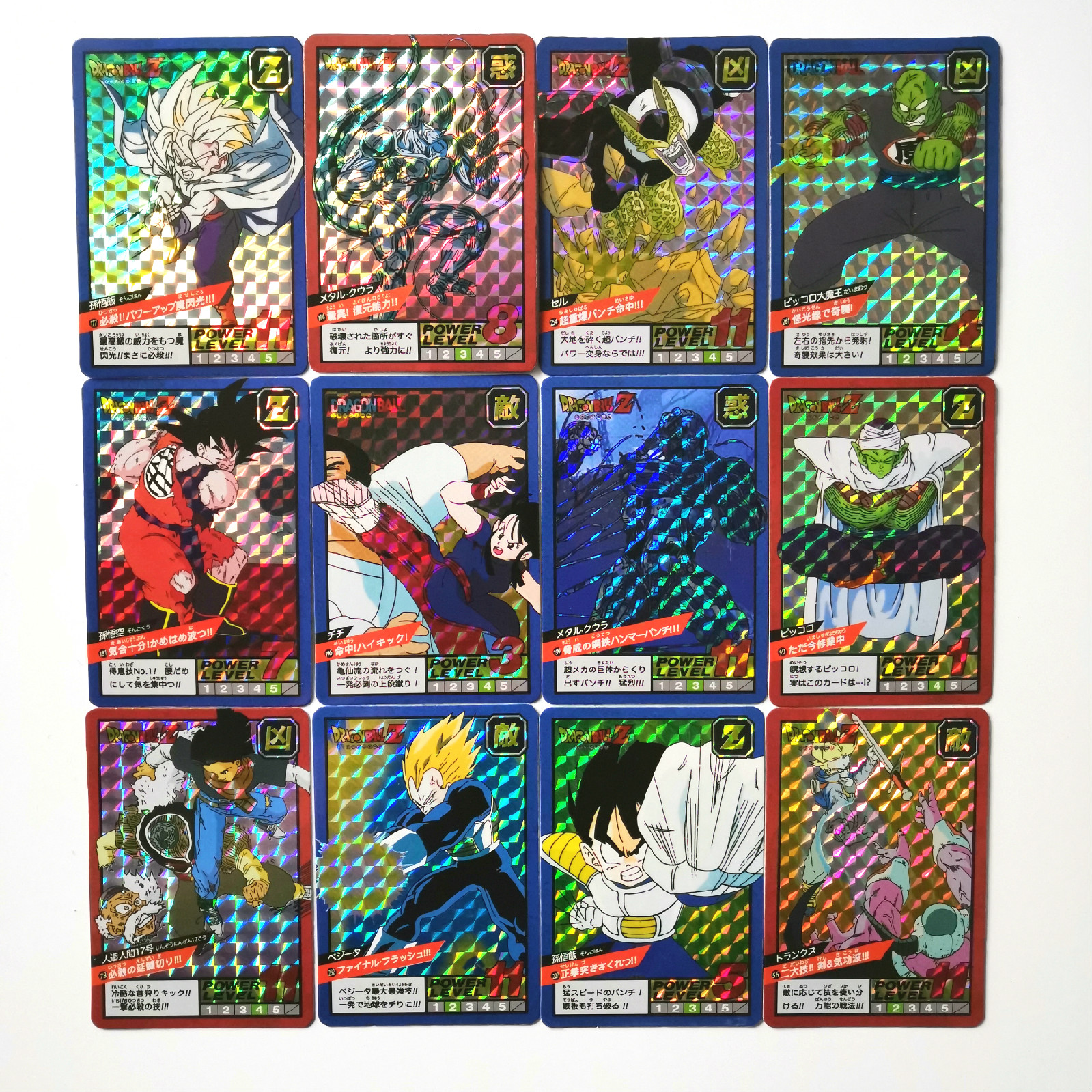 22pcs Super Dragon Ball Z Fighting PP20 Heroes Battle Card Ultra Instinct Goku Vegeta Game Collection Cards