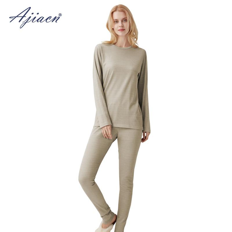 EMF Shield women/'s long underwear professional set silver fiber protection