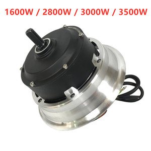 HM 60V/72V Motor with 1600W 2800W 3000W 3500W engines for electric e scooter kick scooter wheel motors