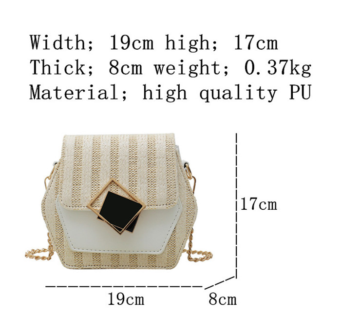 H5afd5a2ae4cf428e9233b22349b92595x - Handbag Women Summer Rattan Bag Hexagon Mulit Style Straw+leather Handmade Woven Beach Circle Bohemia Shoulder Bag New Fashion