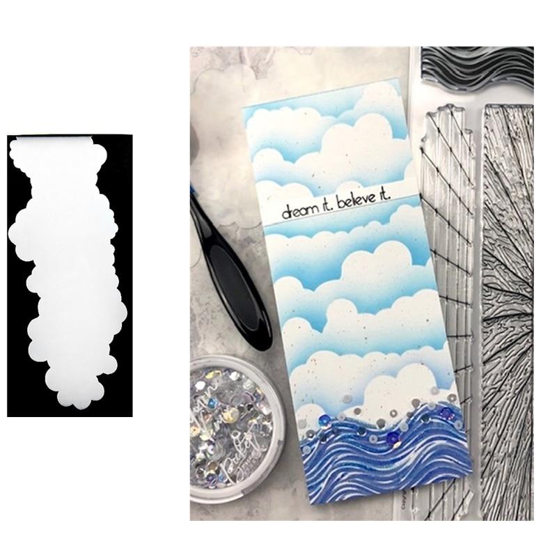 Sun Clouds Stamps Stencil For DIY Scrapbooking Card Stencil Paper Craft Handmade Album Handbook Decoration-4