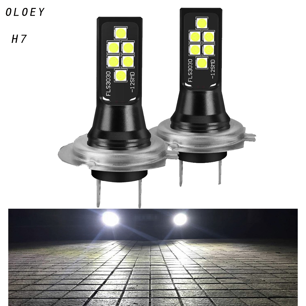 Car Led H7 Headlight H1 LED Front Bulb 6000K LED Lamp Car Fog Lights 12V Super Bright Led H7 Auto Automotive Bulbs