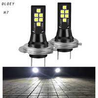 Car Led H7 Headlight H1 LED Front Bulb 6000K LED Lamp Car Fog Lights 12V Super Bright Led H7 Auto Automotive Bulbs