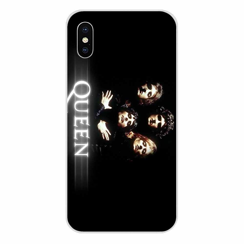 Queen Band Duduk Freddie Mercury untuk Huawei Kehormatan Nova Note 5 5I 8A 8X10 Pro 9X untuk Moto G G2 G3 G4 G5 G6 G7 PLUS