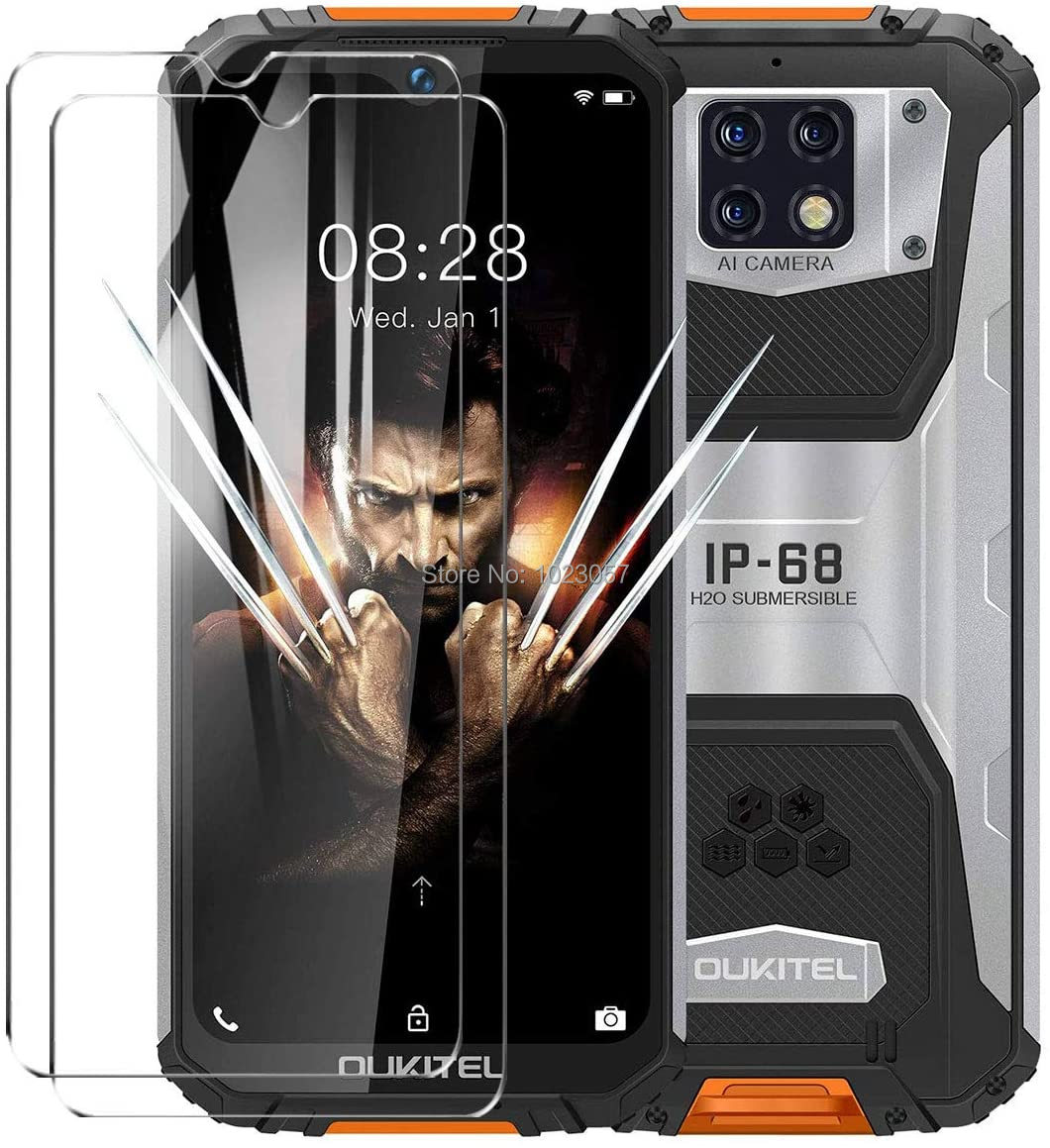 2pcs Glass For Oukitel WP6 Tempered Glass Screen Protector For Oukitel WP6 Glass  Film