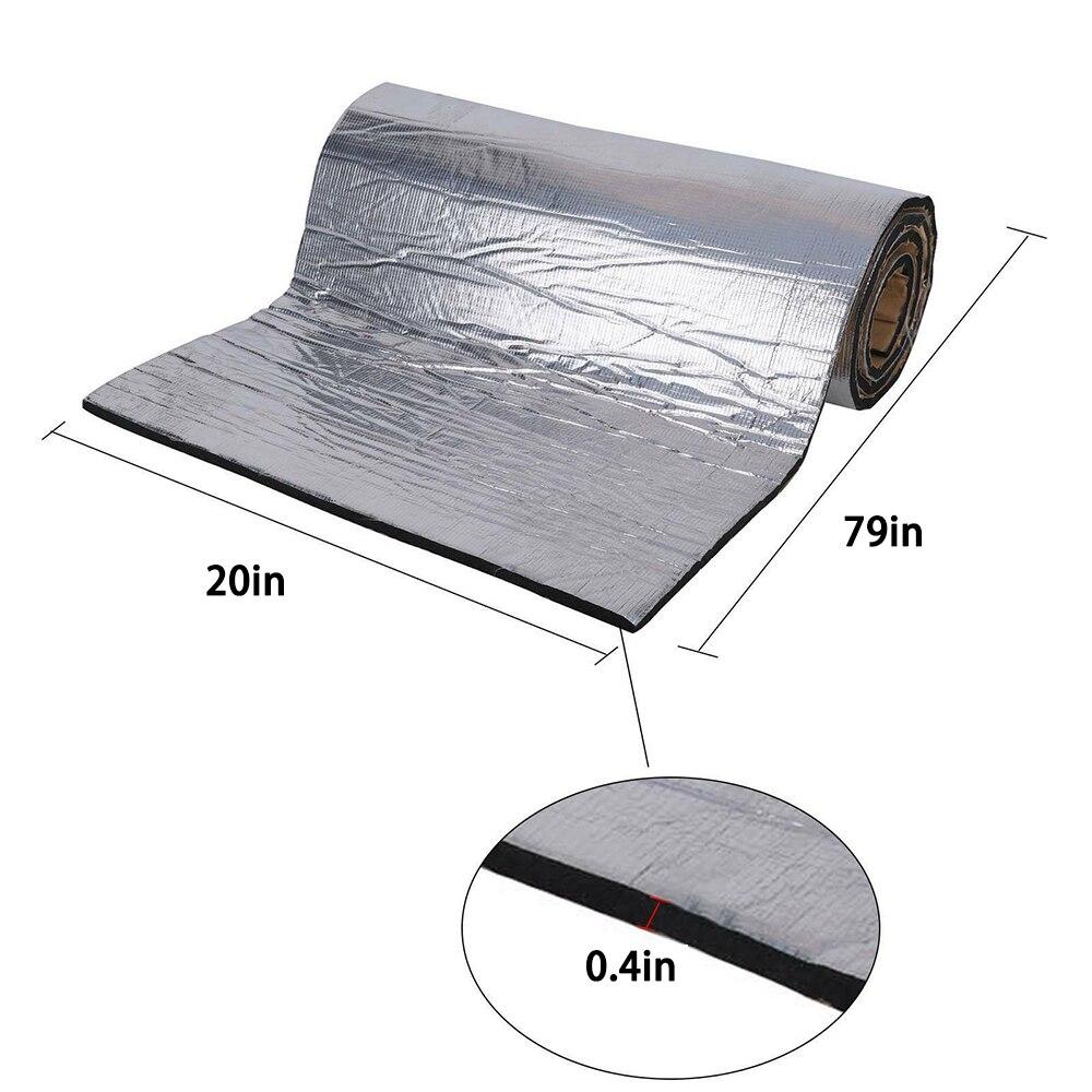 1 шт., универсальный теплоизоляционный коврик для автомобильного грузовика, 10 мм