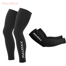 2021 MAVIC Cosmic Leg Warmers Black UV Protection Cycling Arm Warmer Breathable Bicycle Running Racing MTB Bike Leg Sleeve