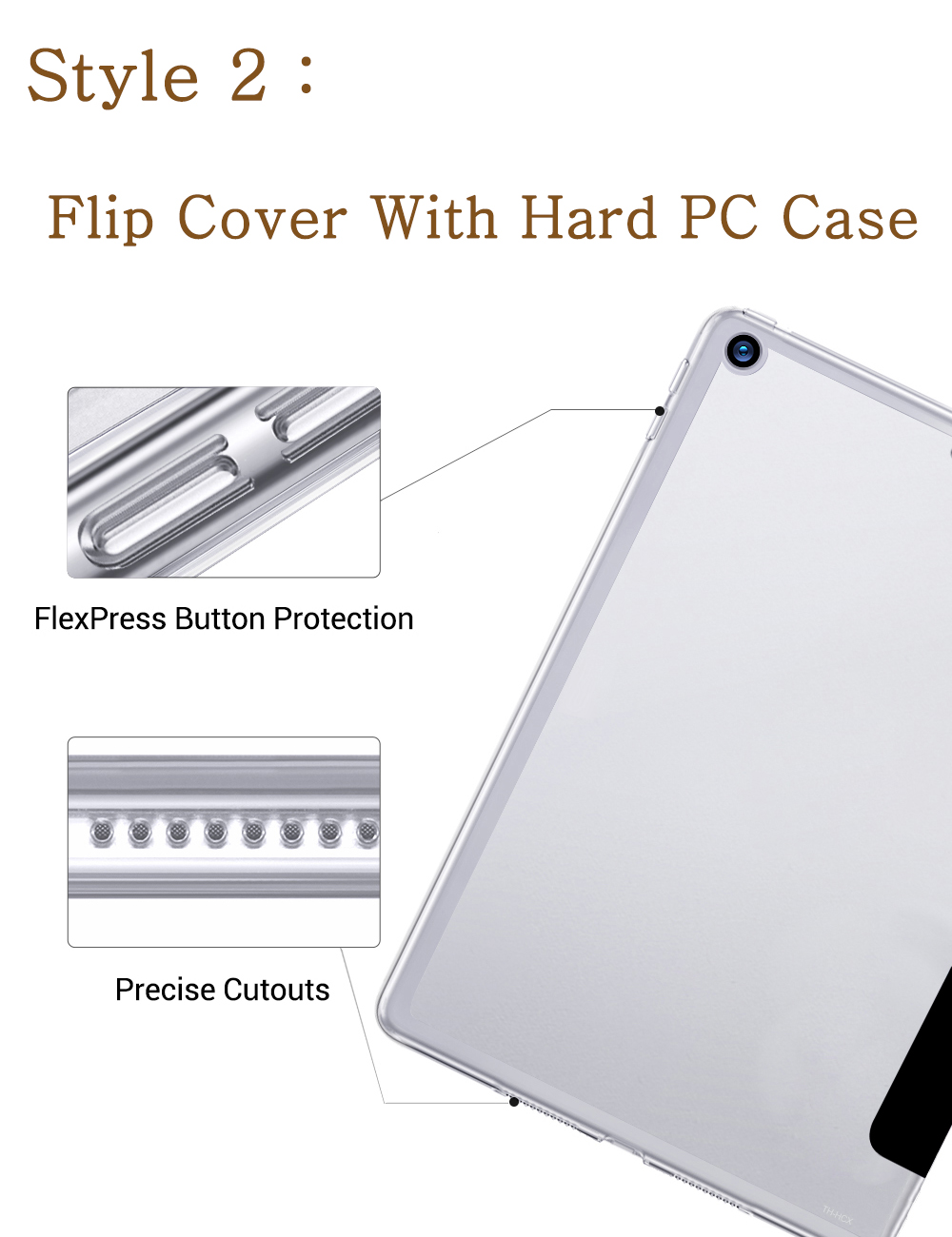 7th Apple Magnetic Shell Soft-Silicone for iPad A2197 Smart-Cover 8th-Generation-Case