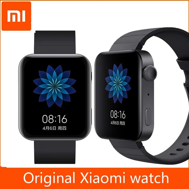 2020 Xiaomi Mi часы GPS NFC Wi-Fi Android Смарт часы Спорт Bluetooth фитнес-монитор сердечного ритма