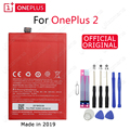 ONE PLUS Оригинальный аккумулятор для телефона BLP597 3200/3300 мАч для OnePlus 2 A2001 Высокое качество Замена литий-ионных батарей Бесплатные инструменты