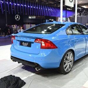 Image 3 - Cho Volvo S60 2012 2017 Chất Liệu ABS Xẻ Tà Cao Cấp Bất Kỳ Màu Sắc Nào Hoặc Lót Xe Cánh Sau Xe Ô Tô Cảnh Quan trang Trí Spoiler