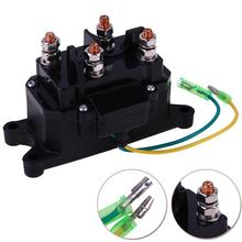 цена на ATV UTV Truck Boat Contactor Relay Winch Contactor Electric Winch Solenoid Relay Replacement Switch