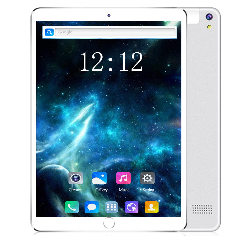Free Shipping 10.1 Inch Tablet 10 Core 6GB RAM 128GB ROM 8MP WIFI 3G 4G FDD LTE Unlock 1920X1200 IPS GPS Android 8.0 Tablet