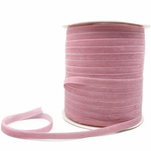 6/10/15/20/25/38mm fita de veludo rosa artesanal festa de casamento decoração fita para embrulho de presente diy cabelo bowknot costura tecido