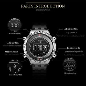 Image 2 - KADEMAN Men Watch Sport Male LED Digital Watches 3TAM Full Steel Fashion Full Steel Wristwatches TOP Brand Relogio Masculino 849