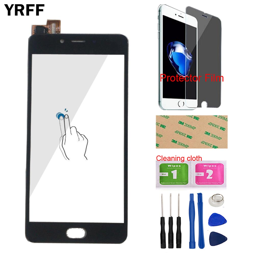 Mobile Touch Screen Front Glass For ZTE Nubia N2 NX575J Touch Panel Touch Screen Digitizer Sensor Tools Free Protector Film(China)