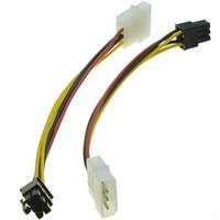 PD18 Pin PCI Express PCIE Video Card Power Converter Adapter Cable molex connector sata JLF