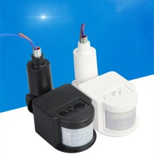 Светильник с датчиком движения, наружный переменный ток, 220 В, Автоматический Инфракрасный ПИР, инфракрасный датчик сигнализации, светодиодный светильник