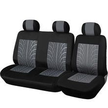 Car Truck 2+1 Type Split Seat Cover Dustproof Seat Cushion For Ford Transit Custom For Vauxhall For Renault For Toyota Hiace