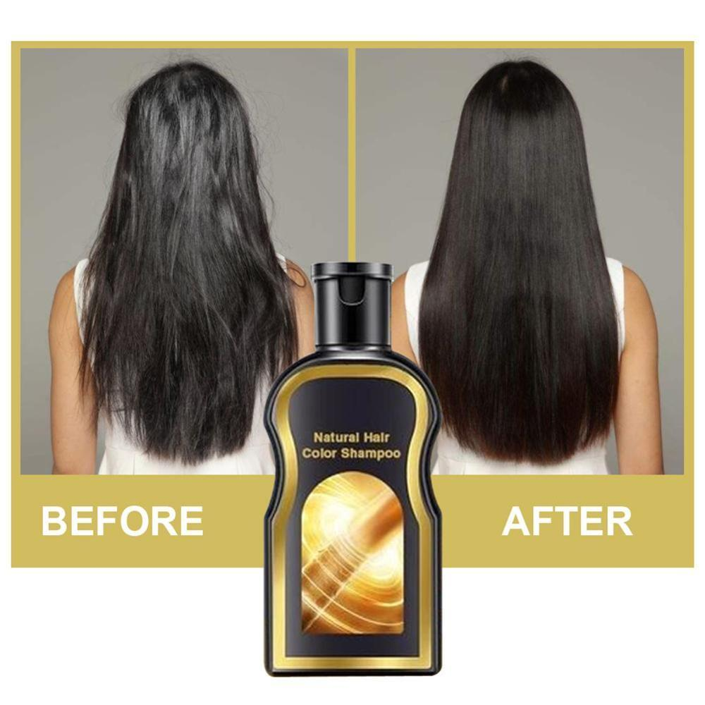 Multiflorum Black Hair Shampoo Gleditsia Natural Shampoos Hair Care Repair Oil Control Anti-dandruff Cream 30ml