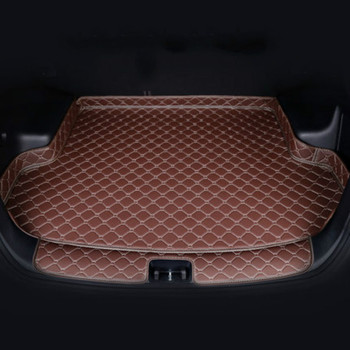 Special 3D Full Covered Car Trunk Mats for Trumpche GS4 GS5 GS8 GS3 GA3s GA4 GA8 Waterproof Durable Rear Boot Cargo Carpets