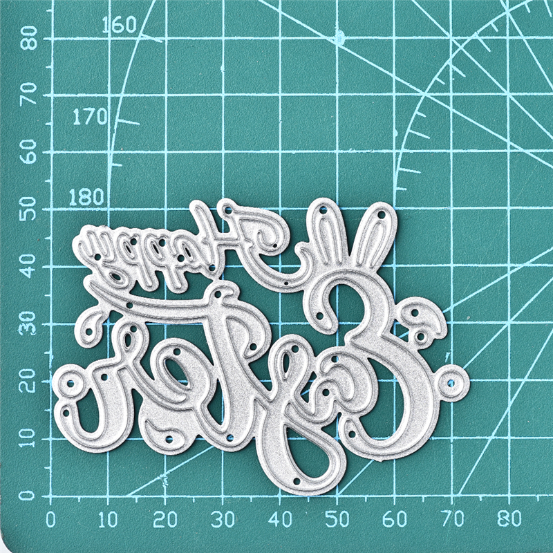 DiyArts Letter Dies Metal Cutting Dies New 2019 for Craft Dies Scrapbooking Letter Dies Embossing Stencil DIY Die Cut Decoration in Cutting Dies from Home Garden