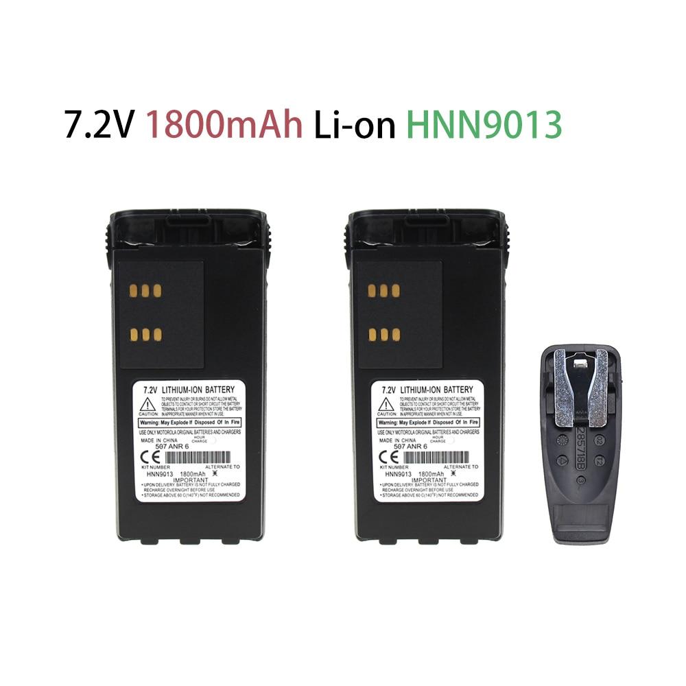 ExpertPower HNN9008 HNN9009 Battery Extended For Motorola GP328 HT750 HT1250 HT1550