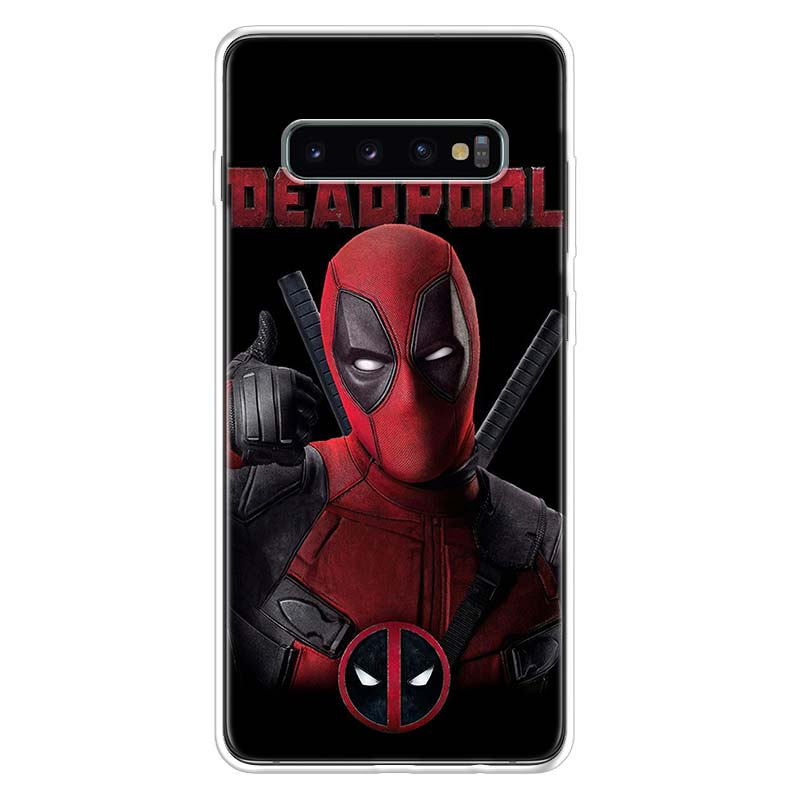 Deadpool Dead Pool Funny Cover Phone Case For Samsung Galaxy S20 Ultra S10 Lite Note 10 9 8 S9 S8 J4 J6 J8 Plus + S7 Edge Coque