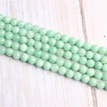 Burma Jade?Natural Stone Beads For Jewelry Making Diy Bracelet Necklace 4/6/8/10/12 mm Wholesale Strand