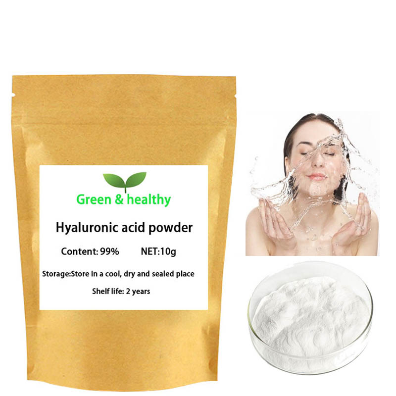 99% Pure Hyaluronic Acid Powder Cosmetic Grade Of The Best Quality Anti-wrinkle And Anti-aging,Moisturizing,free Shipping