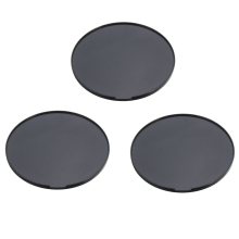 3 Pieces 72mm Adhesive Car Dashboard Mounting Disk Pad Plate for Universal Suction GPS Smart Phone Cup Mount Holder Cradle
