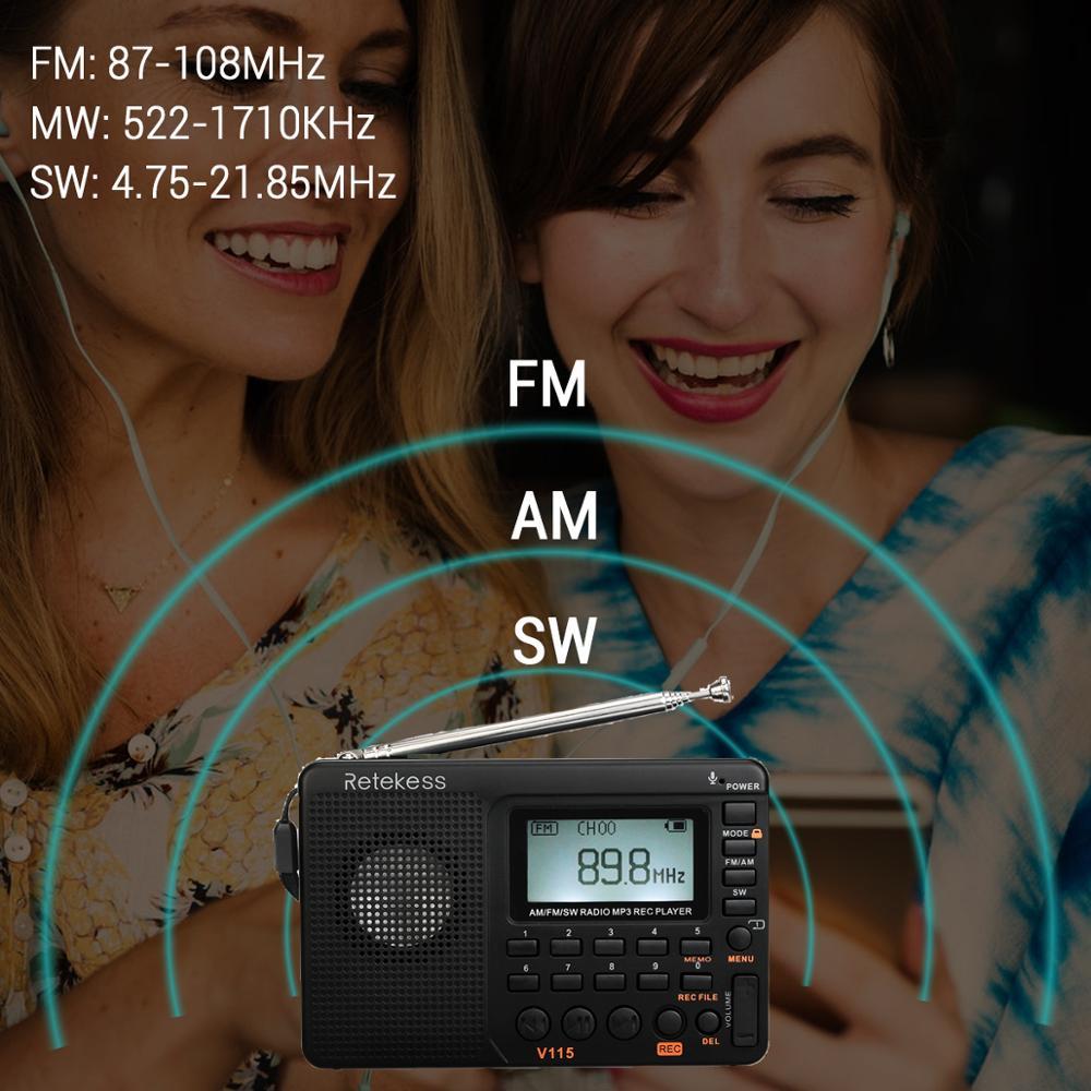 วิทยุ MP3 States วิทยุแบบพกพากระเป๋า
