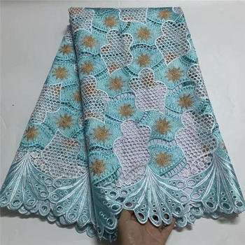 Fashion African Fucshia Mesh Fabric High Quality Nigerian Lace Fabrics With Stones Swiss Voile Lace In Switzerland F2759