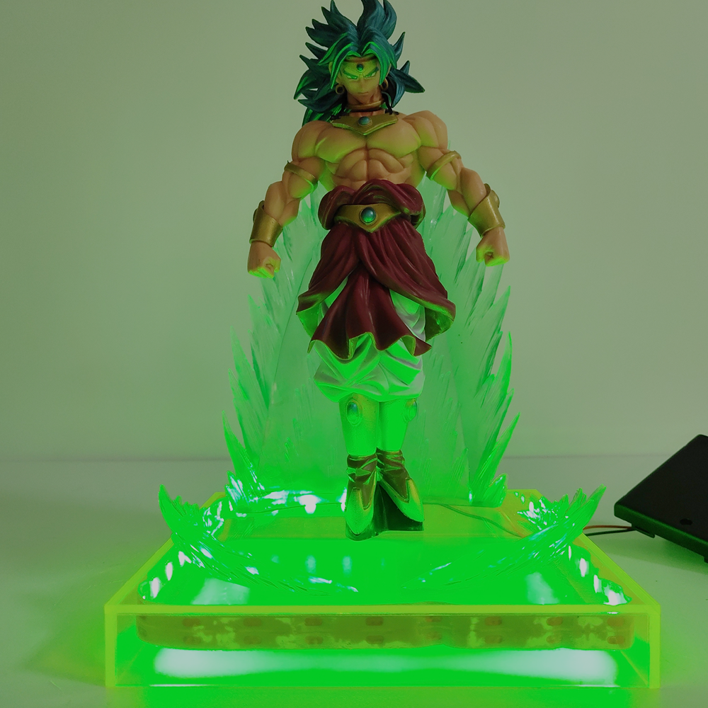 Dragon Ball Z Broly BWFC7 #83 Broli Anime Action Figure PVC DIY Set Figures Dragonball LED Collection DBZ Model Figma Toys Doll