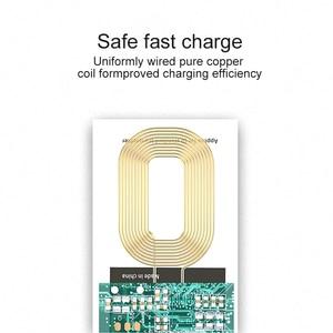 Image 5 - צ י סטנדרטי טעינה אלחוטית סליל מקלט Pad אוניברסלי מתאם מודול עבור iPhone 5 6 7 סמסונג Huawei מיקרו USB סוג C טלפון