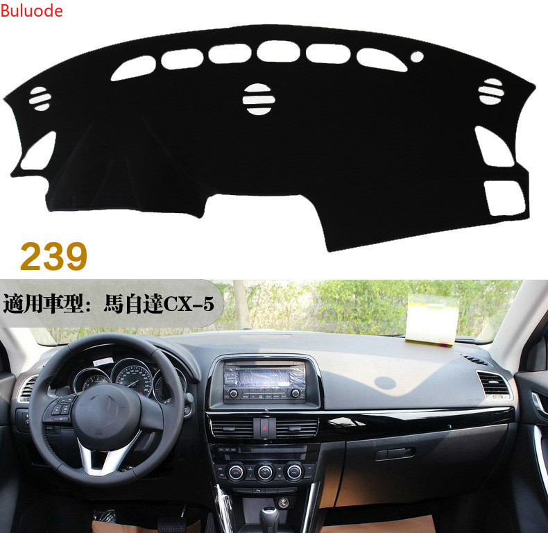 For <font><b>Mazda</b></font> <font><b>CX</b></font>-<font><b>5</b></font> CX5 2012 2013 2014 2015 <font><b>2016</b></font> Dashboard Cover Mat Pad Dashmat Sun Shade Instrument Carpet Car Styling Accessories image