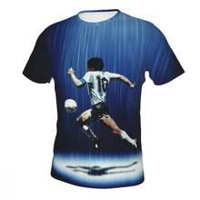 Мужская Базовая футболка rip maradona с коротким рукавом