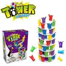 Пингвин баланс игрушка вызов башня сложены детские игрушки настольная