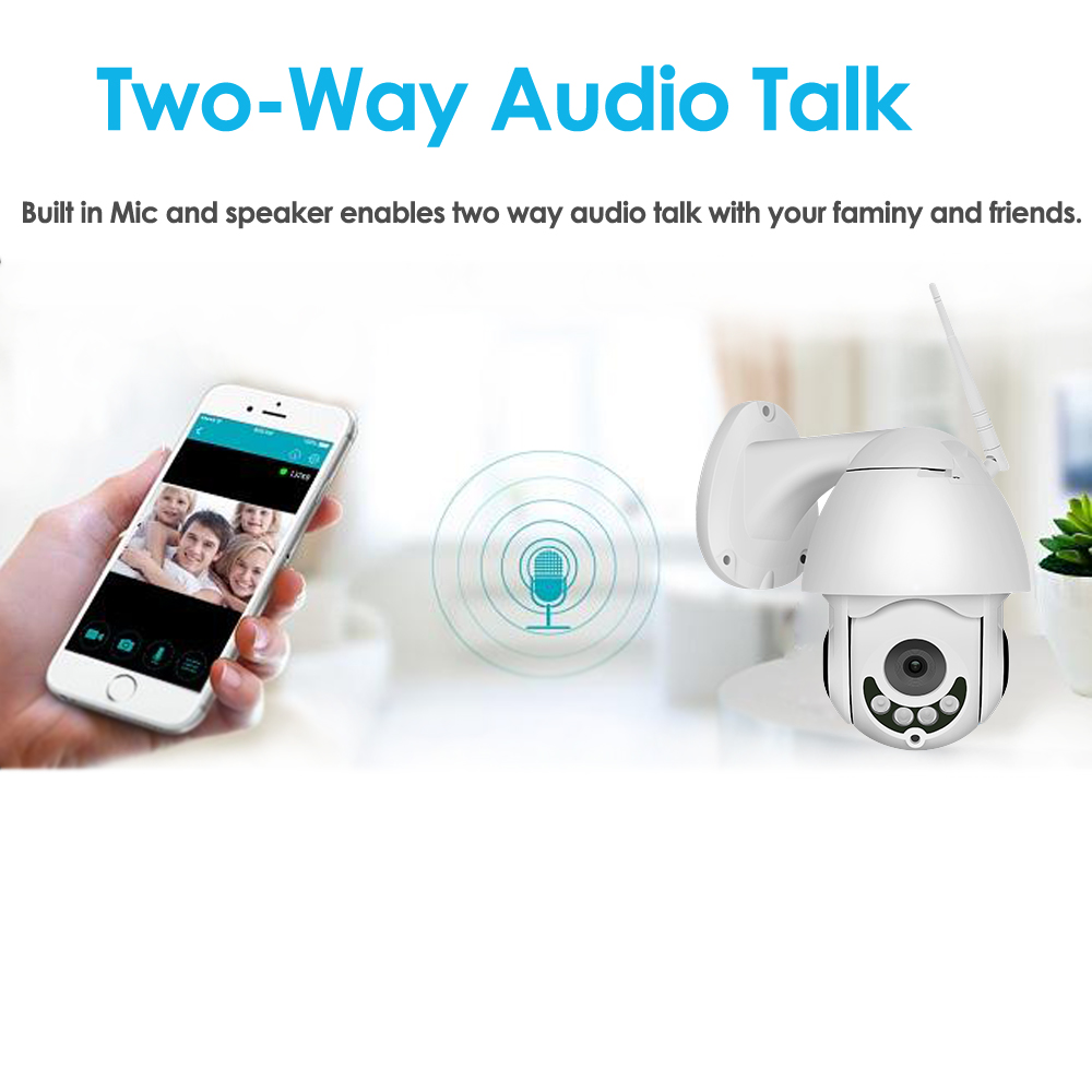 two way audio talk