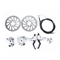 Mountain Bike Mechanical Metal Disc Front/Rear Brake Disc Rotors Bike Cycling