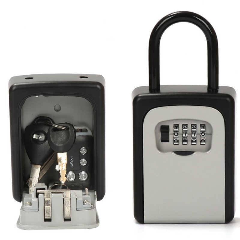 Porta nuova Maniglia Chiave Box Password della Casella di Decorazione di Blocco del Codice Consegna Di Immagazzinaggio Chiave Password Scatole