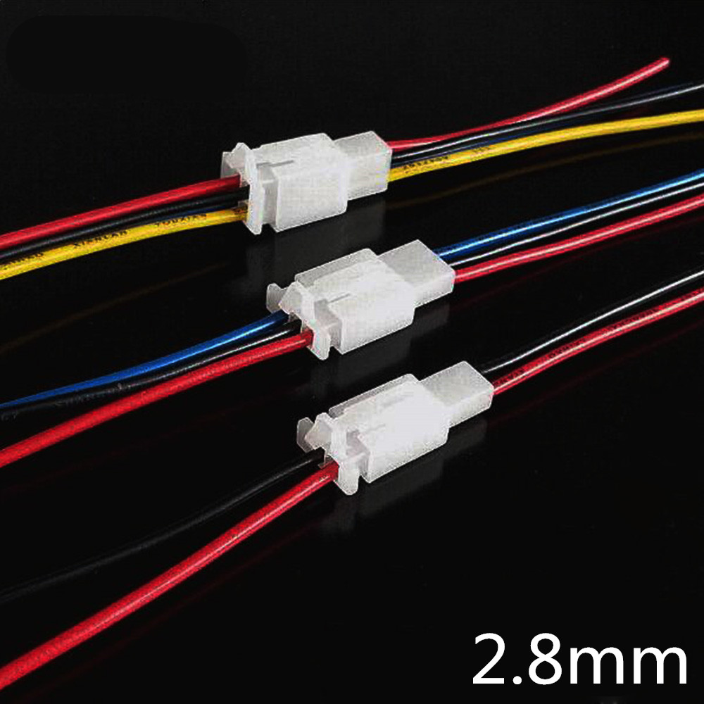 1PC 2.8mm Automotive Wire Connector Male Female 2.8 Cable Terminal Plug Kits Motorcycle Ebike Car
