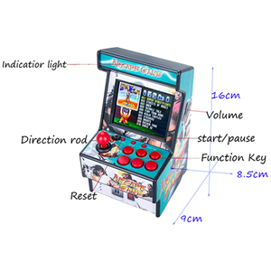 """Image 3 - Gamepad Portable Retro Mini Arcade Handheld Game Console Machine Player 16 Bit Built in 156 Classic TV Output With 2.8"""" Screen"""