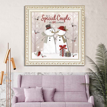 Christmas 5D DIY Diamond Painting Full Series Embroidery Cross Stitch For Living Room Bedroom Decoration