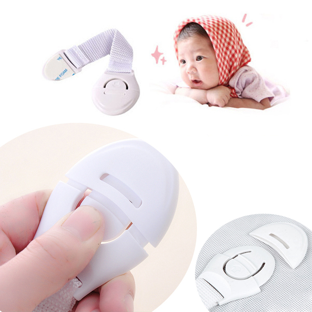 5PCs/lot Baby Drawer Lock Children Security Protection Child Drawer Door Locks Cabinet Cupboard Safety Kids Locks For Wardrobe 3