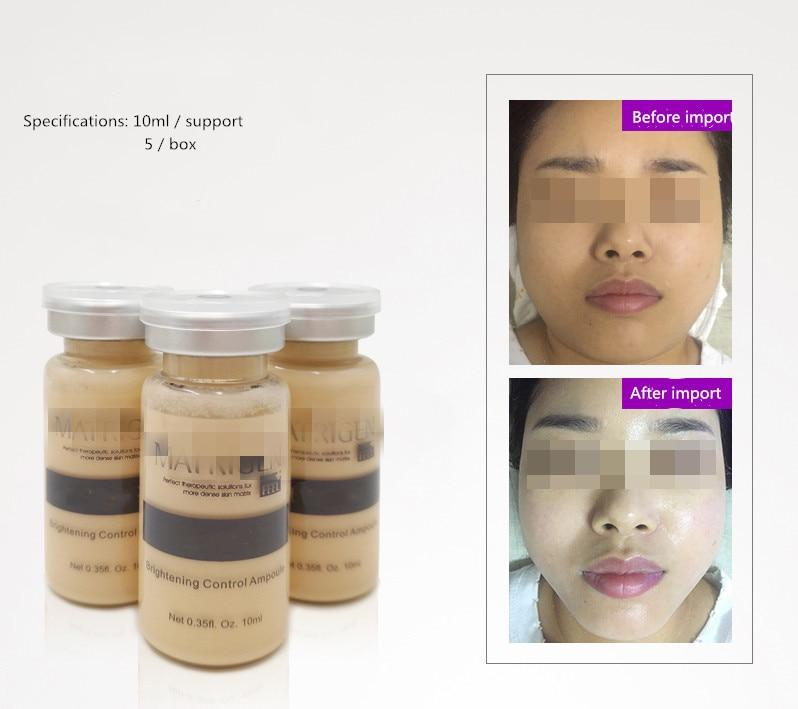 Brightening Control Ampoule Foundation Liquid  Essence Modify Skin Tone, Moisturize, Lift And Tighten 5pcs/box 10ml*5