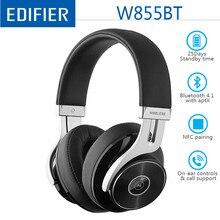 Edifier W855BT / W830BT bezprzewodowe słuchawki Bluetooth 4.1 Stereo HIFI bezprzewodowe słuchawki z mikrofonem gamingowy zestaw słuchawkowy