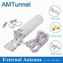 4G antenna outdoor LTE antena 4G SMA male 12dBi Omni 3G antenna TS9 CRC9 for Huawei B315 B310 E8372 E3372 ZTE 4G router