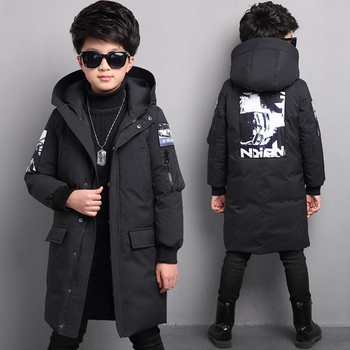 -30 degrees new boys winter jackets children clothing warm down jacket Hooded coat thicken outerwear kids parka clothes overcoat цена 2017