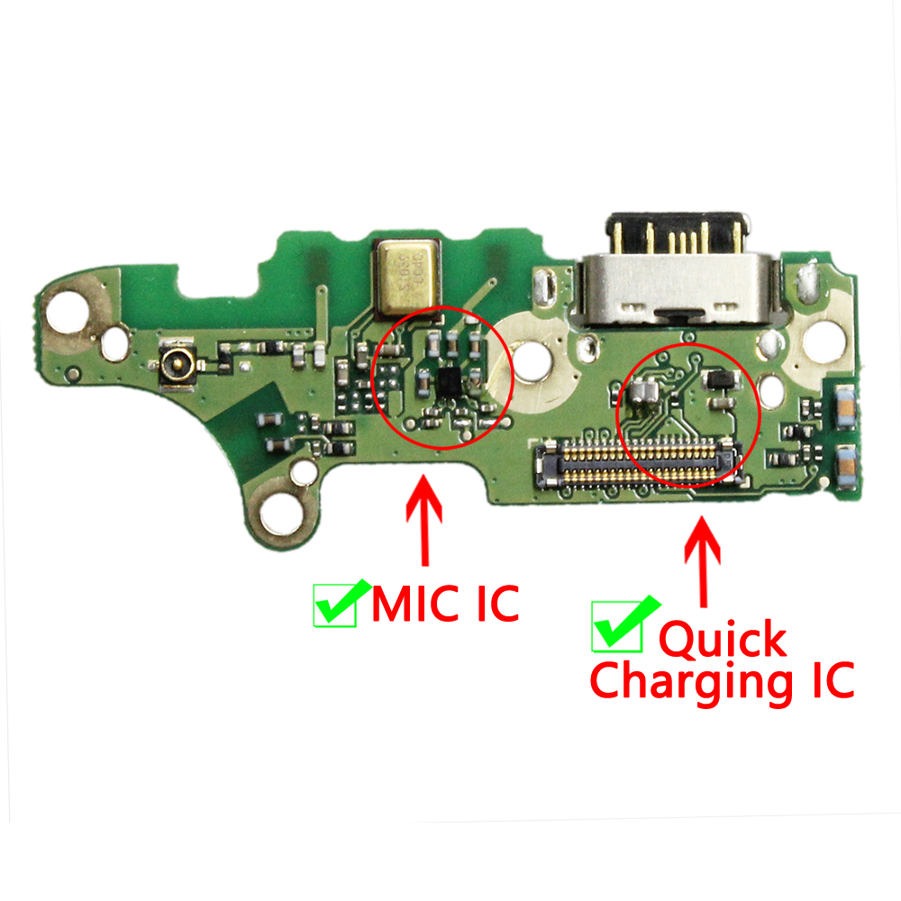 New For Nokia 7.1 USB Charger Charging Port Connector Mic Board Replace Parts